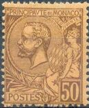 Monaco 1891 Prince Albert I g