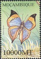 Mozambique 2002 Butterflies u