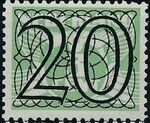 Netherlands 1940 Numerals - Stamps of 1926-1927 Surcharged g