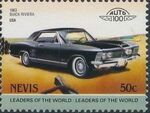 Nevis 1985 Leaders of the World - Auto 100 (3rd Group) p