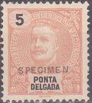 Ponta Delgada 1897 D. Carlos I SPb