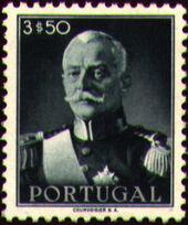 Portugal 1945 President Carmona i