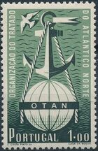 Portugal 1952 3rd Anniversary of North Atlantic Treaty Signing a