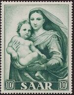 Saar 1954 Centenary of the Promulgation of the Dogma of the Immaculate Conception b