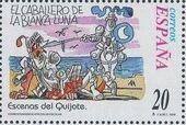 """Spain 1998 Scenes from """"Don Quixote"""" w"""