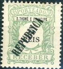 St Thomas and Prince 1913 Postage Due Stamps - 1st Overprint a