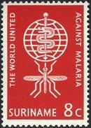 Surinam 1962 Malaria Eradication a