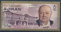 Ajman 1966 Winston Churchill b