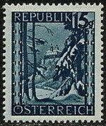Austria 1946 Landscapes (II) d