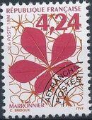 France 1994 Leaves - Precanceled c