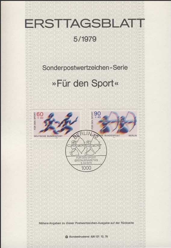 Germany-Berlin 1979 Sports Aid IOPa