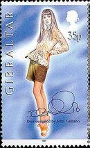 Gibraltar 1997 Dior Fashion Designs by John Galiano b