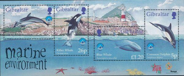 Gibraltar 1998 UNESCO International Year of the Ocean k