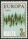Malta 1972 Europa b