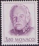Monaco 1990 Prince Rainier III e