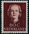 Netherlands 1949 Queen Juliana - En Face (1st Group) l