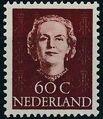 Netherlands 1949 Queen Juliana - En Face (1st Group) l.jpg