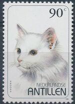 Netherlands Antilles 1995 Domestic Cats d