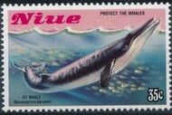 Niue 1983 Protect the Whales c