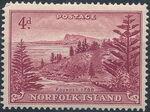 Norfolk Island 1947 Ball Bay - Definitives g