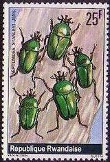 Rwanda 1978 Beetles f
