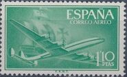 Spain 1956 Plane and Caravel (2nd Group) c