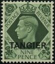 "British Offices in Tangier 1949 King George VI Overprinted ""TANGIER"" i"