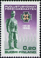 Finland 1968 50th Anniversary of the Finnish Army a