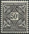 French Sudan 1931 Postage Due f.jpg