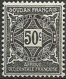 French Sudan 1931 Postage Due f