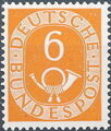 Germany, Federal Republic 1951 Posthorn and Numbers d.jpg