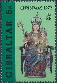 Gibraltar 1972 Christmas b