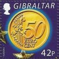 Gibraltar 2002 New coins in Europe f.jpg
