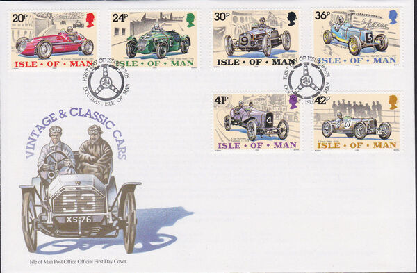 Isle of Man 1995 90th Anniversary of British Motor Car Racing k