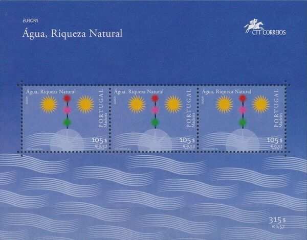 Madeira 2001 Europa - Water, natural wealth c