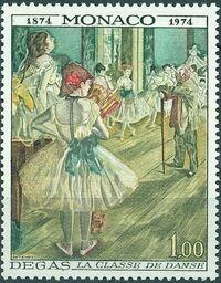 Monaco 1974 100th Anniversary of Impressionism b