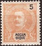 Mozambique 1898 D. Carlos I b
