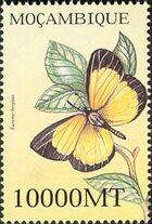 Mozambique 2002 Butterflies e
