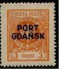 Poland 1925 Polish Offices Abroad - Danzig c