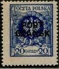 Poland 1925 Polish Offices Abroad - Danzig g
