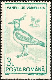 Romania 1991 Water birds e