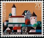 Switzerland 1979 PRO PATRIA - Castles c