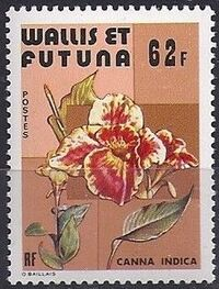 Wallis and Futuna 1979 Flowers c