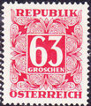Austria 1957 Postage Due Stamps - Square frame with digit (5th Group) a.jpg