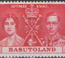Basutoland 1937 George VI Coronation