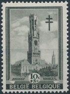 Belgium 1939 Anti Tuberculosis - Belfries a