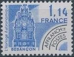 France 1981 Historic Monuments - Pre-cancelled (3rd Issue) b