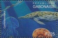 Gabon 1995 Prehistoric Wildlife t