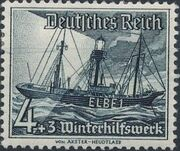 Germany-Third Reich 1937 Winter's Fund - Ships d