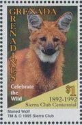 Grenada Grenadines 1995 100th Anniversary of Sierra Club - Endangered Species r